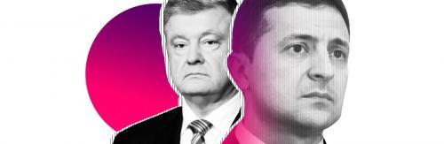 Petro Poroschenko / Pjotr Poroschenko - Wolodymyr Selenskyj / Wladimir Selenski