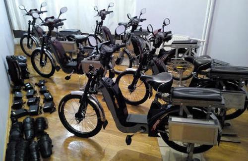 Elektrofahrräder in Kiew