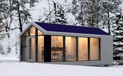 Energieeffizientes Haus PassivDom Ukraine 1