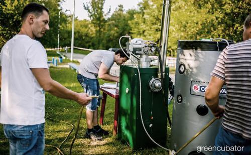 Energieeffizientes Haus Rotor-Sumy Ukraine