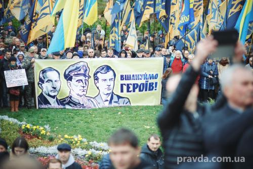 Fackelmarsch in Kiew 11