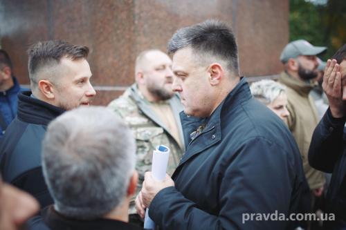 Fackelmarsch in Kiew 12
