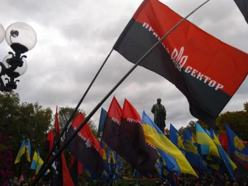 Fackelmarsch in Kiew 13