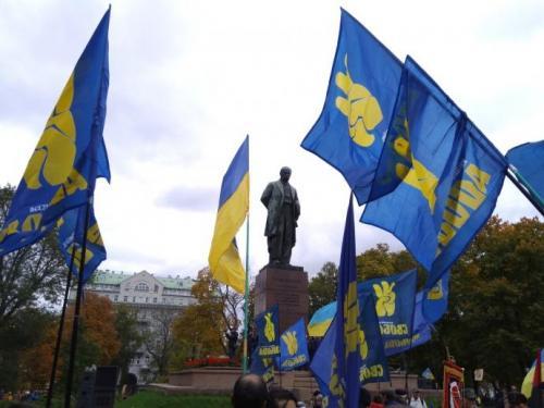 Fackelmarsch in Kiew 14