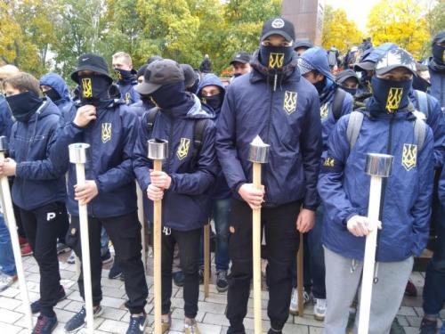 Fackelmarsch in Kiew 15