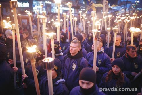 Fackelmarsch in Kiew 18