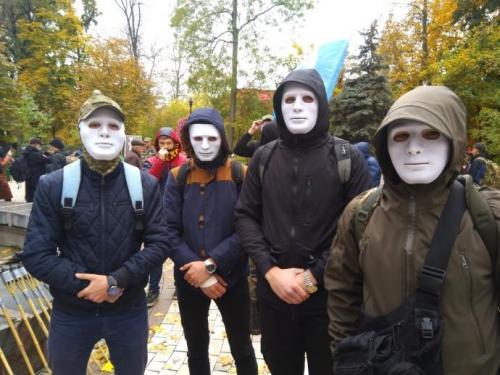 Fackelmarsch in Kiew 19