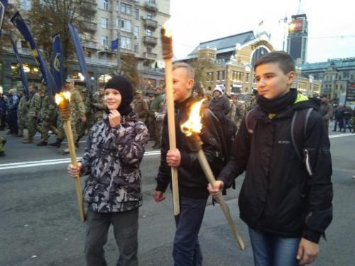 Fackelmarsch in Kiew 20