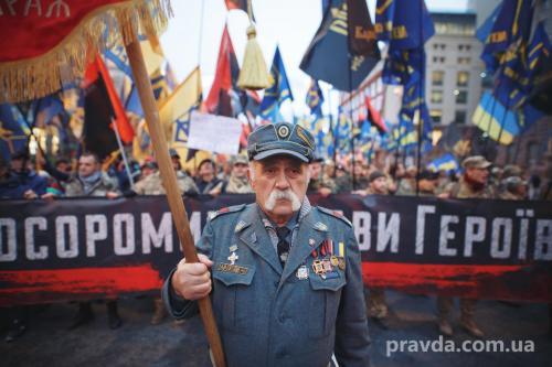Fackelmarsch in Kiew 22