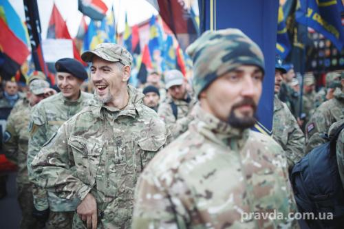 Fackelmarsch in Kiew 24