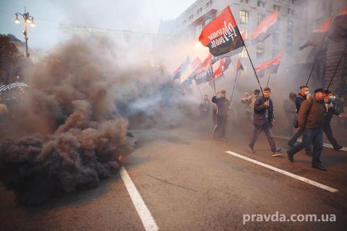 Fackelmarsch in Kiew 25