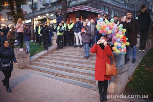Fackelmarsch in Kiew 26