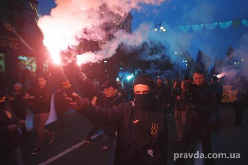 Fackelmarsch in Kiew 27