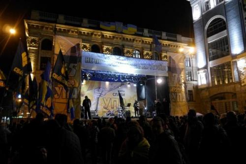 Fackelmarsch in Kiew 31