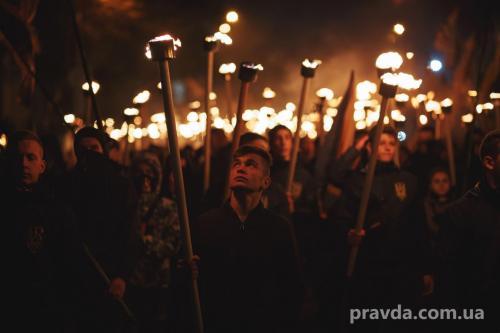 Fackelmarsch in Kiew 32