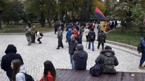 Fackelmarsch in Kiew 4