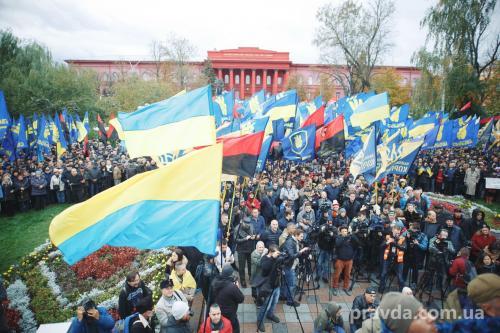 Fackelmarsch in Kiew 6