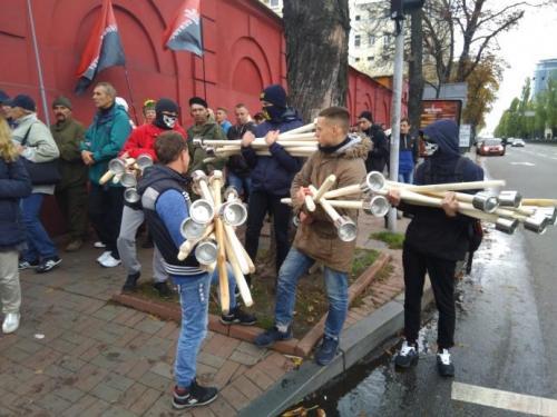 Fackelmarsch in Kiew 7