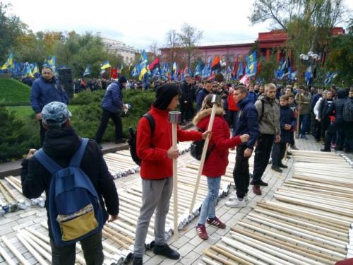 Fackelmarsch in Kiew 8