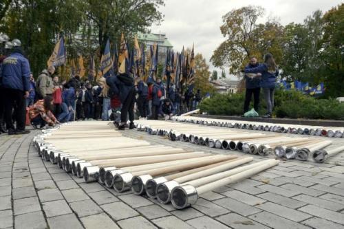 Fackelmarsch in Kiew 9