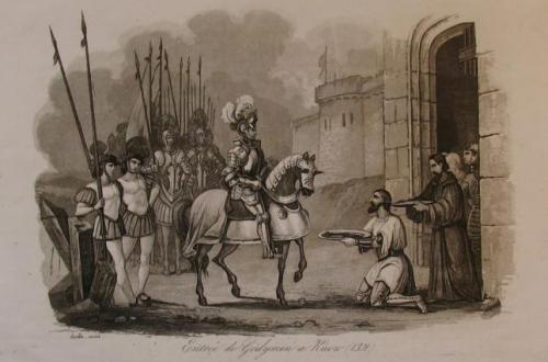 Gediminas Ankunft in Kiew 1321