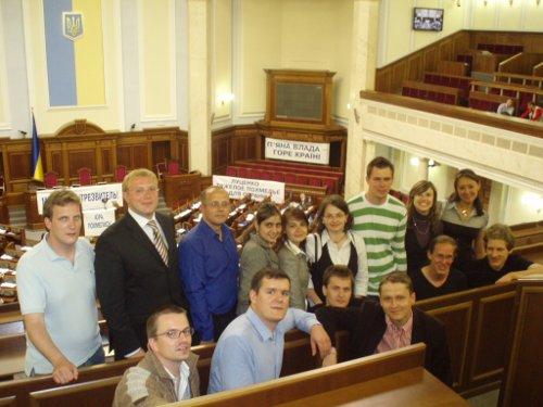 Gruppenbild in der Rada