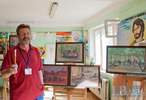 Maler Jewgenij Radsijewskij