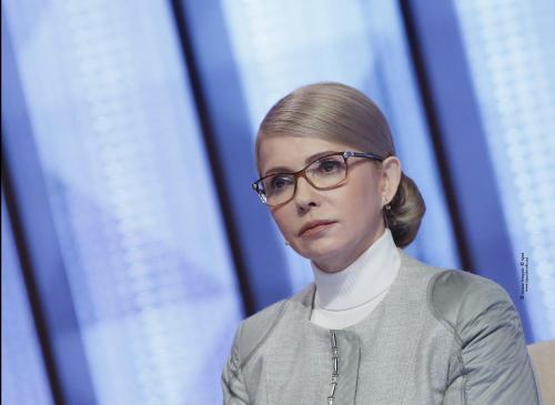 """Julija Tymoschenko in der Sendung """"Prawo na wladu"""""""