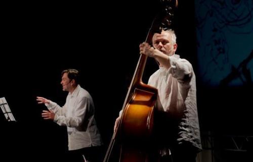 Jurij Andruchowytsch und Mark Tokar - Foto: Oleksij Karpowytsch
