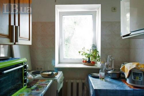 Küche im Obdachlosenasyl in Kiew