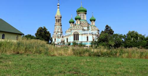 Kirche der Altgläubigen in Belaja Kriniza - Bila Krynyzja - Fântâna Albă