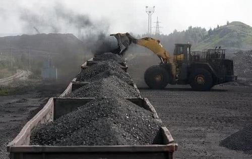 Kohleverladung Ukraine