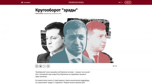 Kreislauf des Verrats - Wolodymyr Selenskyj / Wladimir Selenski