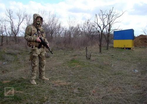 An der Grenze zur Krim
