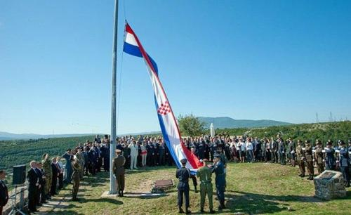 Kroatien - Feier am Jahrestag des Endes der Operation Sturm am 5. August 2011