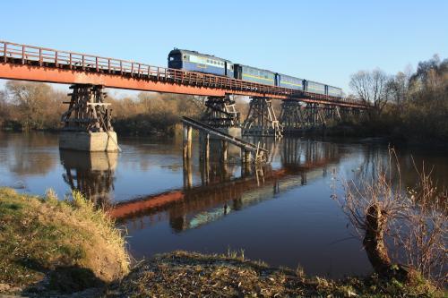 "Schmalspurbahn ""Antonivka-Zarichne"", Bild: Peter Koller"