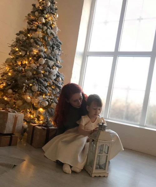 Im Winter 2019 bekam Brizzy ein echtes Neujahrs-Fotoshooting, das Krankenschwester Maryna für sie organisierte