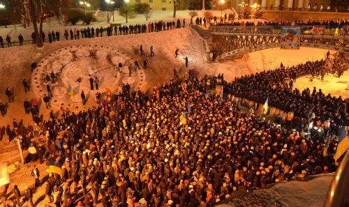 Der ukrainische Majdan ging als eines der dramatischsten Ereignisse der Welt im ersten Viertel des 21. Jahrhunderts in die Geschichte ein. Foto: Jurij Charytontschuk
