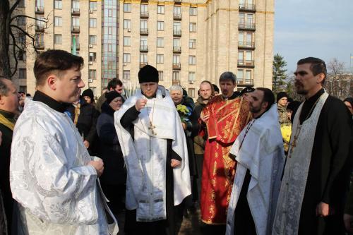 In diesen Tagen finden in Kyjiw Gebete und Gedenkgottesdienste für die Opfer des Majdan im Jahr 2014 statt.