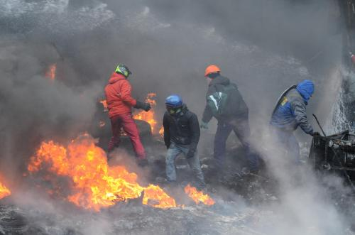 Diejenigen, die an den Morden auf dem Majdan beteiligt waren, wurden nie bestraft. Die Angehörigen der Helden der Himmlischen Hundertschaft fordern von der neuen Regierung, was die vorherige nicht machen konnte. Foto: Walerij Schmakow