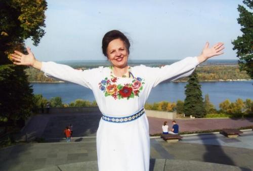 """Tetjana Domaschenko gilt als Autorin der Redewendung """"Himmlische Hundertschaft"""". Ob zu Recht, das kann man nicht sicher sagen."""