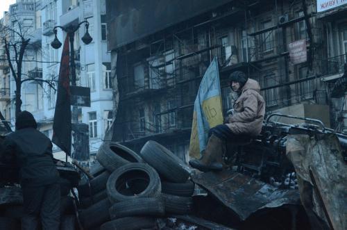 Diejenigen, die den Majdan in Kyjiw organisiert haben, behaupten, dass in drei Monaten etwa zehn Millionen Ukrainer über ihn gelaufen sind. Foto Walerij Schmakow