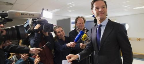 Mark Rutte stimmt über die Ukraine-Assoziierung ab