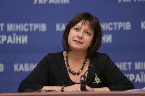 Ex-Finanzministerin Natalija Jaresko