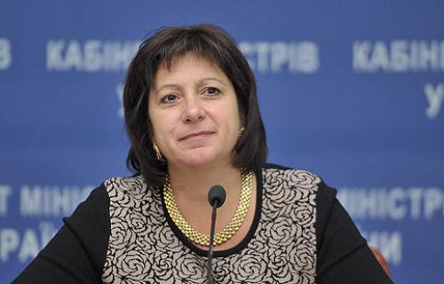 Finanzministerin Natalija Jaresko