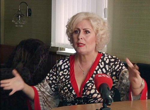 Nelja Schtepa, Ex-Bürgermeisterin von Slawjansk/Slowjansk