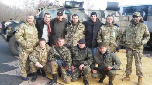 Wladimir Parassjuk, Sergej Sobolew und Semjon Sementschenko