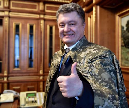Petro Poroschenko - zynischer Bandera