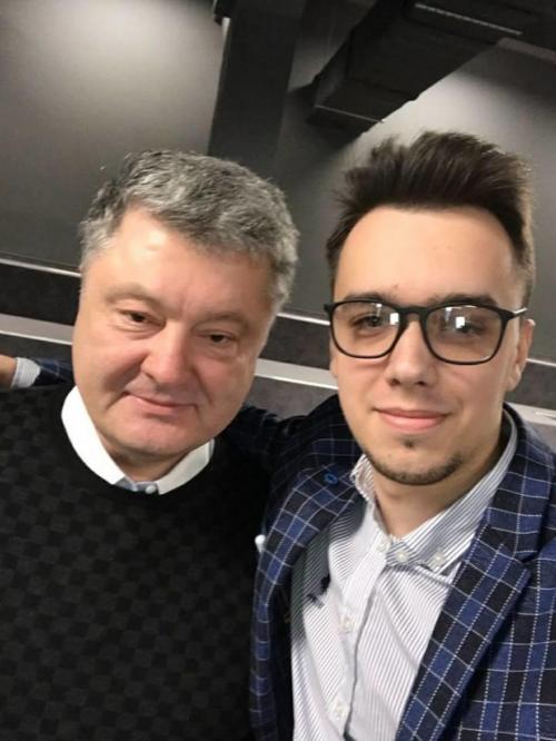 Petro Poroschenko und Myroslaw Oleschko