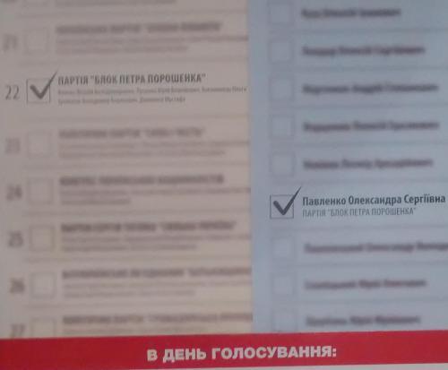 Anleitung zum Abstimmen Petro-Poroschenko-Block